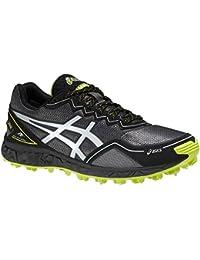 Asics GEL FUJI SET SU G-TX Zapatillas para Correr Running Negro Amarillo para Hombre