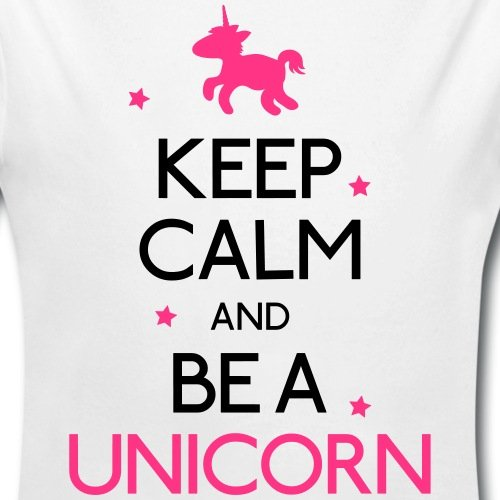 Keep-Calm-And-Be-A-Unicorn-Body-bb-bio-manches-longues-de-Spreadshirt