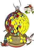 Grateful Gnome Kolibri Feeder-Maurerhammer-Globe Stil Globe Half Yellow Half Speckled