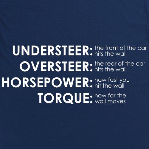 PistonHeads The Wall T-Shirt, Herren Dunkelblau