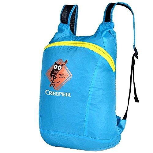 Sincere® Package / Sacs à dos / portable épaule léger sac / Ultralight / pliage sac levage alpinisme / petit sac à dos d'équitation / sac peau bleu 20L