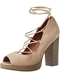 7238706, Chaussures à Talons Femme, Beige (Beige), 41 EUBata