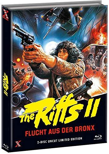 The Riffs 2 - Flucht aus der Bronx - Mediabook Cover B - Limited Edition (+ DVD) [Blu-ray]