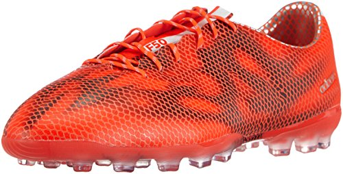 Adidas F50 Adizero Ag, Chaussures de Football Homme Rouge (solar Red/ftwr White/core Black)