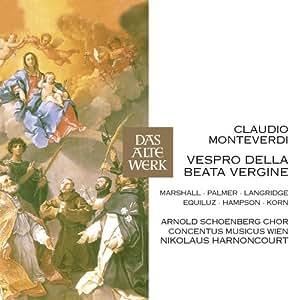 Monteverdi : Vespro della Beata Vergine (DAW50)