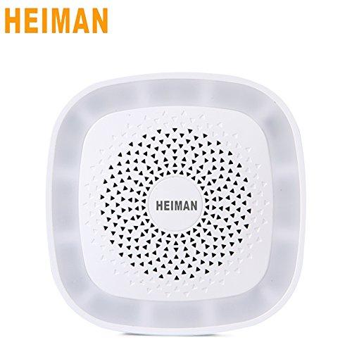 Heiman Wireless Gateway/Hub/Brücke zwischen Smart Home Geräte mit ZigBee) Neue Version hs1gw- weiß