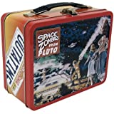 "Factory Entertainment ""Back to The Future OUTATIME"" Metal Tote Tin Lunch Box"