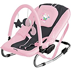 'Zwillings Baby Bouncer Space Mice Hollywoodschaukel Rosa