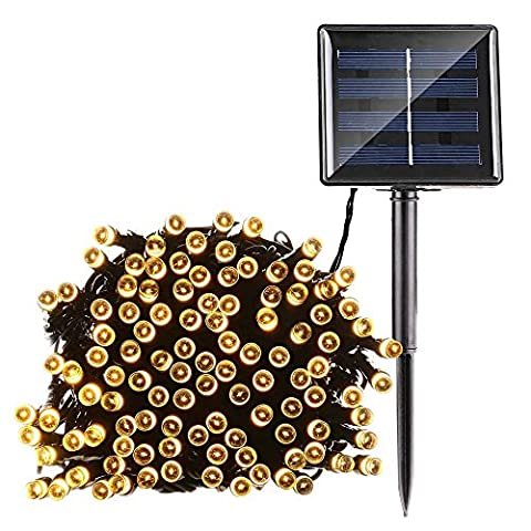 MKT® Solar LED String 8 Modes 200 Lights waterproof Ambiance