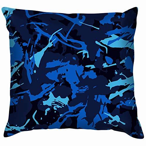 vintage cap Urban Camouflage Modern Fashion Design Camo Throw Pillows Covers Accent Home Sofa Cushion Cover Pillowcase Gift Decorative 18X18 Inch - Vintage Urban Camo