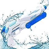 MOZOOSON Pistolas de Agua para niños Adultos, 800ml Pistola de Chorro de Agua Squirt Gun Soaker Guns Juguete de Verano para Playa