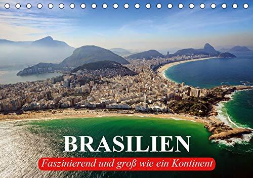 Brasilien. Faszinierend und groß wie ein Kontinent (Tischkalender 2020 DIN A5 quer): Die Schönheit und Faszination Brasiliens (Geburtstagskalender, 14 Seiten ) (CALVENDO Orte)