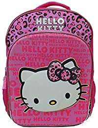 "Sanrio Hello Kitty 16"" Large 3D Backpack"