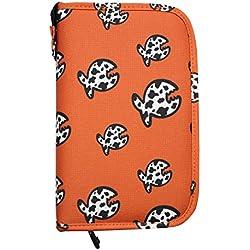 iQ-Company Allover Fish LOGBOOK Siren Journal, Orange, M