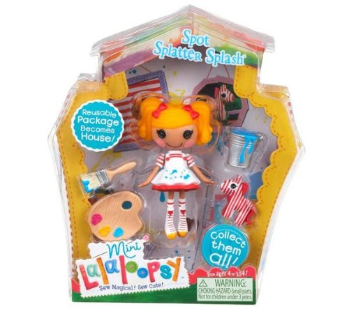 Mini Lalaloopsy Puppe - Spot Splatter Splash (Lalaloopsy Spielwaren)