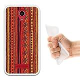 WoowCase Doogee X3 Hülle, Handyhülle Silikon für [ Doogee X3 ] Stammesmuster Handytasche Handy Cover Case Schutzhülle Flexible TPU - Transparent