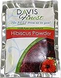 Davis Finest Estratto di ibisco per capelli, pelle e viso - Estratto antietà rassodante per la pelle - estratto alle erbe naturale (100 g)