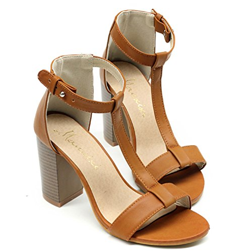 Azbro - Cinturino alla caviglia Donna Marrone