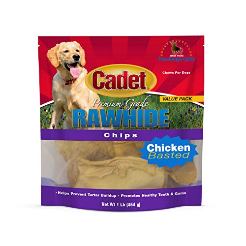 Artikelbild: IMS Trading 10061–16Huhn Rohhaut Chips für Hunde, 454g