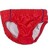 natubini Jungen Sonnenschutz Windelbadehose 'Lifeguard Squad', orig. aquabini Swim Wear UV-Schutzfaktor UPF 50+ Baby Schwimmwindel u. Kleinkinder Badehose, mit integriertem Hygienevliesstoff Größe 74/80