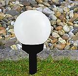Kugel Solarlampe Gartenlampe Außenlampe Solarleuchte Beleuchtung Gartenleuchte