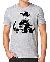 Banksy New York Rat Men's Fashion Quality Heavyweight T-Shirt.