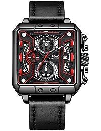 a23866e525b0 BREAK Relojes de Lujo de Moda para Hombres Reloj de Cuarzo Multifuncional  con Cronógrafo Calendario Deportivo