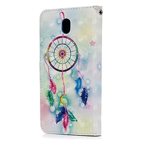 MAXFE.CO Lederhülle Case Schutz für iPhone 6 Plus/6S Plus PU Leder + TPU Innere Etui Schale Backcover Brieftasche 3D Design Flip Cover mit Kartenfächer Magnetverschluß Standfunktion Schmetterling Schmetterling