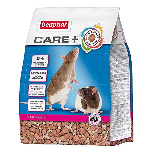 Beaphar - Care+ alimentation super premium - rat - 1,5...