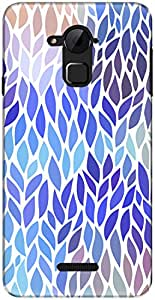 The Racoon Lean printed designer hard back mobile phone case cover for Coolpad Note 3. (Blue Falli)