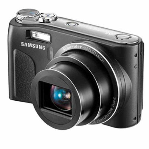 Samsung WB500 Digitalkamera (10,2 Megapixel, 10-fach opt. Zoom, 24mm Ultra-Weitwinkel, 6,9 cm (2,7 Zoll) Display, Bildstabilisator) schwarz Samsung 720p Lcd
