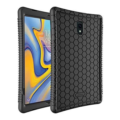 custodia di gomma per tablet FINTIE Custodia per Samsung Galaxy Tab A 10.5 2018 Modello SM-T590/T595 - [Serie Honey Comb] Ultra Leggera Cover Antiurto Protettiva Case in Silicone