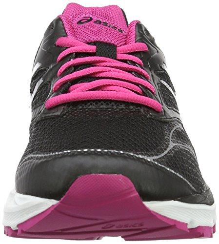 Asics Gel-pulse 8, Gymnastique mixte adulte Nero (Black/Silver/Sport Pink)