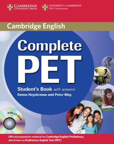 complete-pet-students-book-with-answers-per-le-scuole-superiori-con-cd-rom