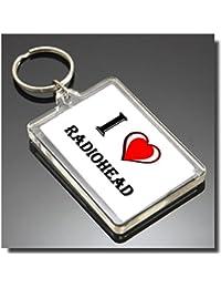 Radiohead I Heart Keyring - I Love Llavero