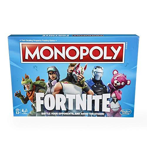 Foto Monopoly Fortnite, Gioco in Scatola, Versione in Italiano