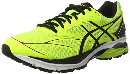Asics Gel-Pulse 8, Scarpe da Ginnastica Uomo, Giallo (Safety Yellow/Black/Onyx), 42 1/2 EU