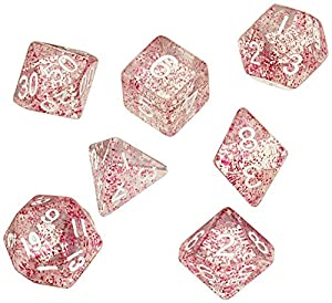 Dice4friends DIC86010 - Cubos para bebé, Color Rosa