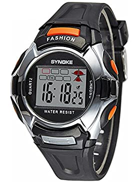 Children's electronic watch luminous-F