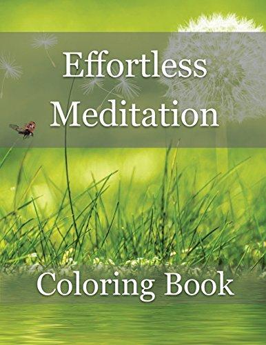 Kostüm Spirituelle - Effortless Meditation Coloring Book