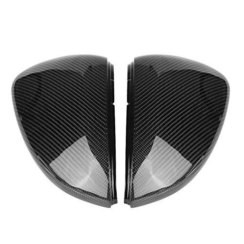 abdeckung - 1 Paar Kohlefaser-Rückspiegelabdeckung für VW Golf 7 / GTI/R 13-18. ()