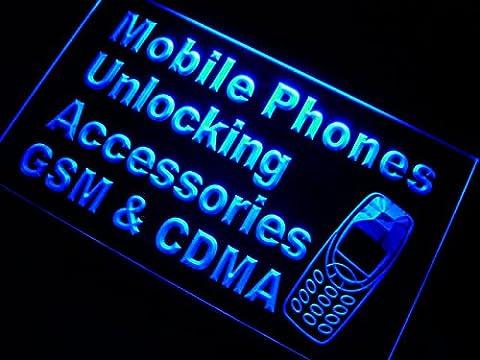 ADV PRO m093-b Mobile Phone GSM CDMA Neon Light Sign