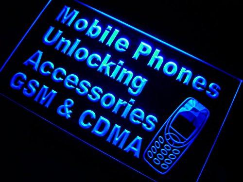 ADV PRO m093-b Mobile Phone GSM CDMA Neon Light Sign Barlicht Neonlicht Lichtwerbung Gsm-cdma