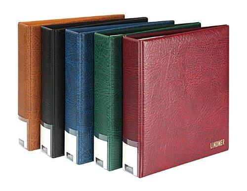 Ring binder PUBLICA M (Lindner 3530) - Couleur: brun clair