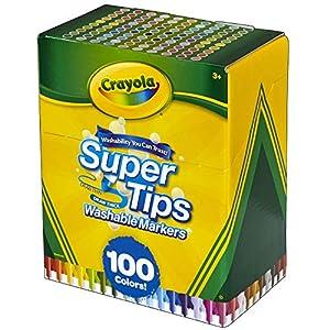 Rotuladores Súper Lavables 100pzs -