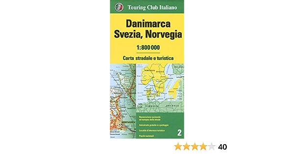 Norvegia Cartina Stradale.Amazon It Danimarca Svezia Norvegia 1 800 000 Carta Stradale E Turistica Ediz Multilingue Aa Vv Aa Vv Libri
