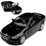 Kinsmart Collection 711 KT5348BK BMW 3er E92 M3 Coupe Schwarz Mit Karbon Dach