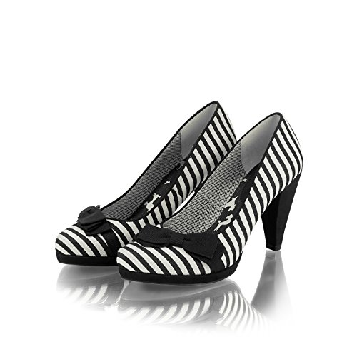 Ruby ShooSusanna - Sandali con Zeppa Donna Black Stripe