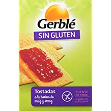 Gerblé Tostadas A La Harina De Maíz Y Arroz, Sin Gluten ...