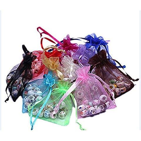 upetch (TM) 50pcs 18* 12cm Organza boda joyas favor de Navidad regalo bolsas de dulces bolsas